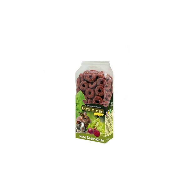 JR Farm Grainless Rote Beete-Ringe 100g FBA