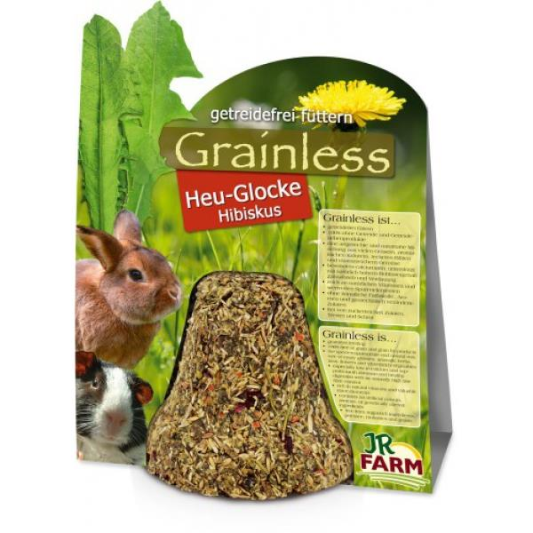 JR Farm Grainless Heu-Glocke Hibiskus 125g
