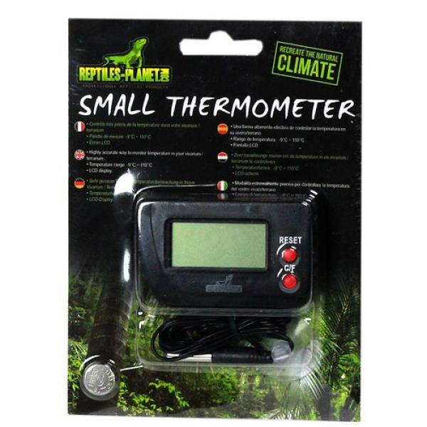reptiles planet thermometer mit f hler thermo hygrometer messen regeln terraristik welt. Black Bedroom Furniture Sets. Home Design Ideas
