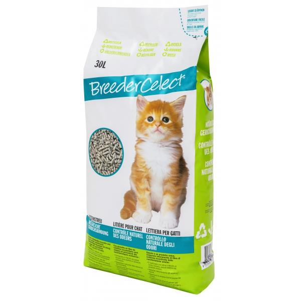 Katzenstreu BreederCelect - Recycled 30l
