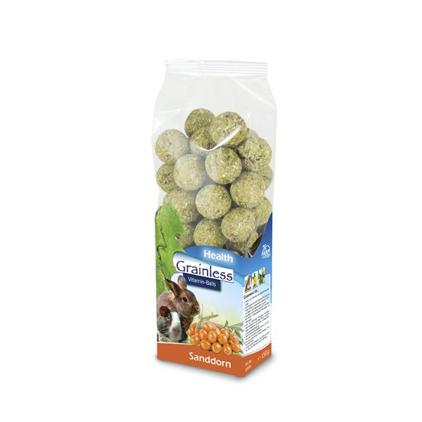 JR-Farm Grainless Health Vitamin Balls Sanddorn 150g