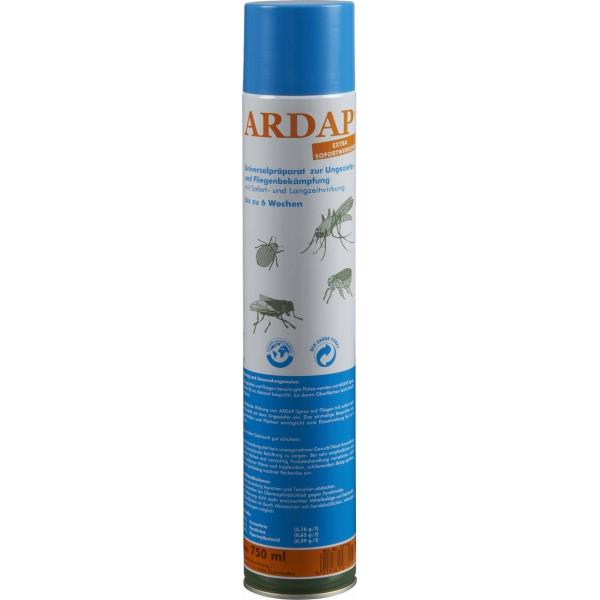 Quiko ARDAP Ungeziefer Spray 750ml 12er Pack (12 x 750ml)
