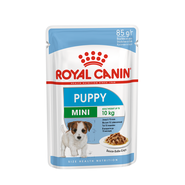 Royal Canin MINI Puppy in Soße 12er Pack (12 x 85g)