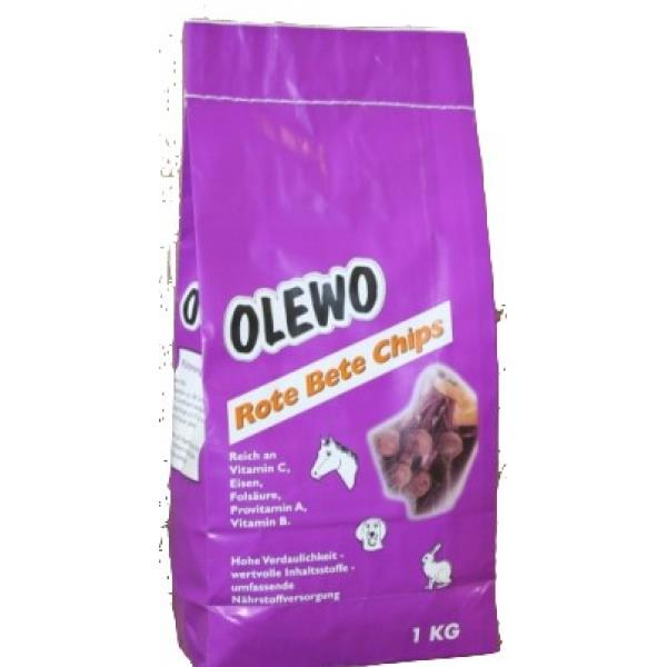 Olewo Rote Bete Chips f. Hunde 7,5kg