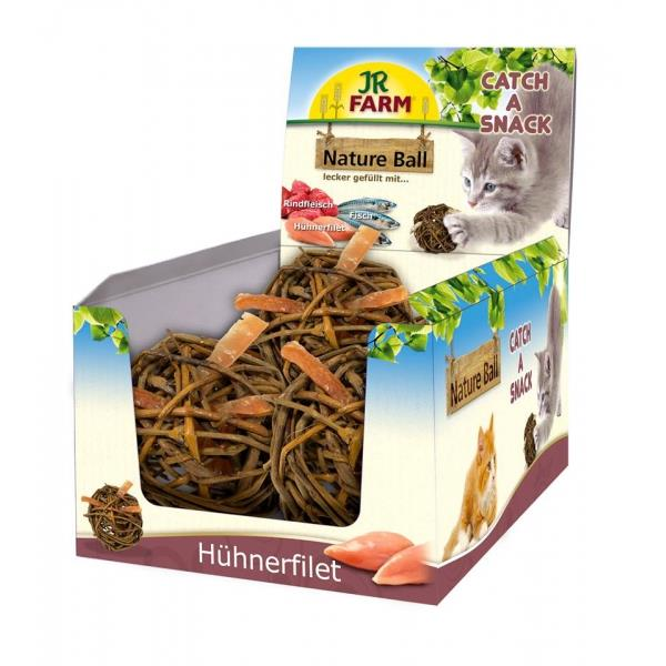 JR Cat Nature-Ball Hühnerfilet 15 g