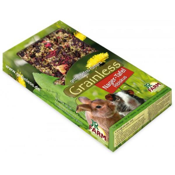 JR Farm Grainless Nager-Tafel Hibiskus 125g