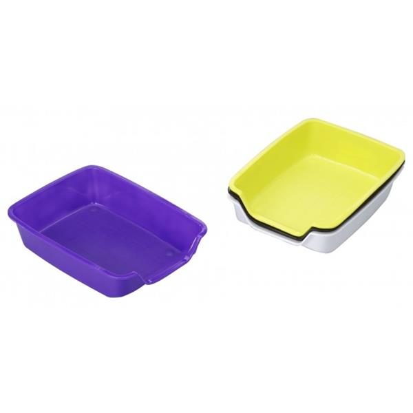 Nager Toilette 37 x 27 cm farbig sortiert