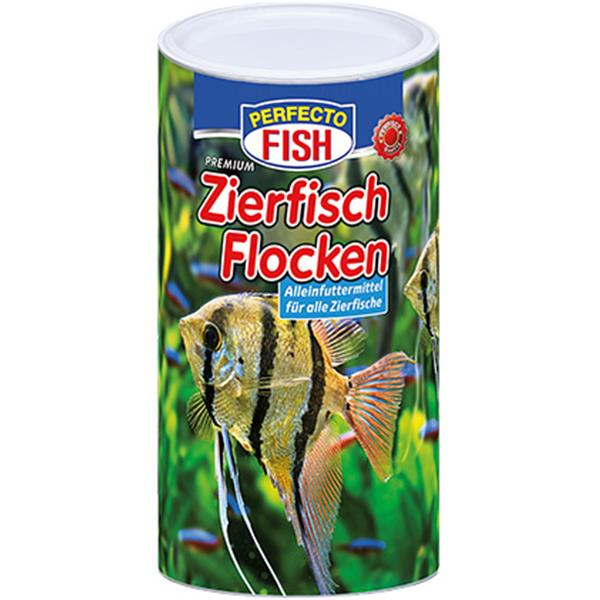 Perfecto Fish Zierfischflocken 1.000 ml 4er Pack (4 x 1000ml)
