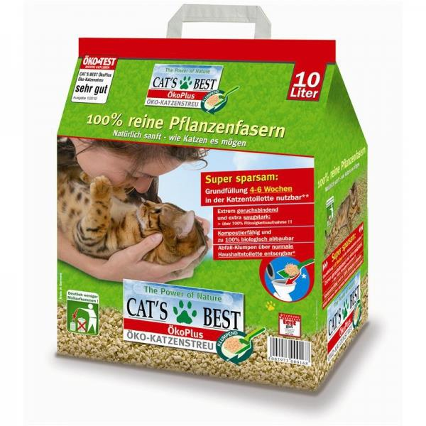 Katzenstreu Cat''s Best Original 10l 4er Pack ( 4 x 10l)