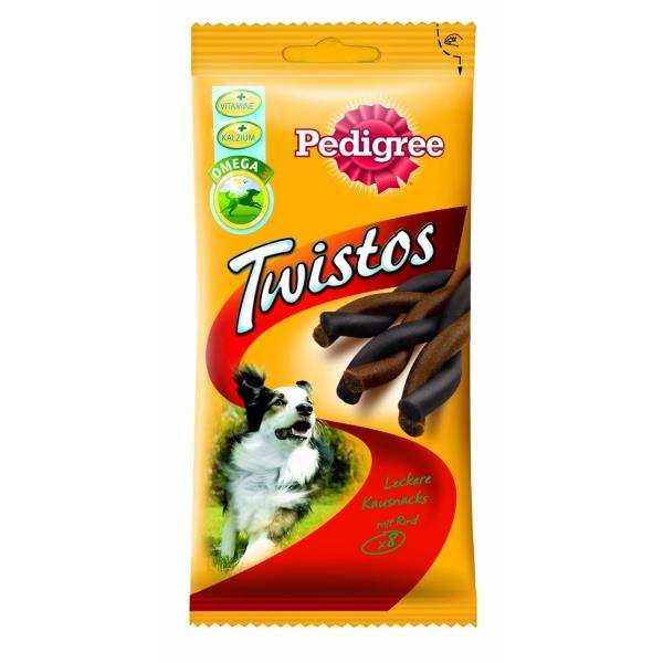 Pedigree Twistos mit Huhn 8er 12er Pack