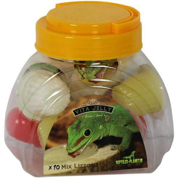 Reptiles Planet Vita Jelly Mix Lizzard - 10 Portionen, für Reptilien & Insekten