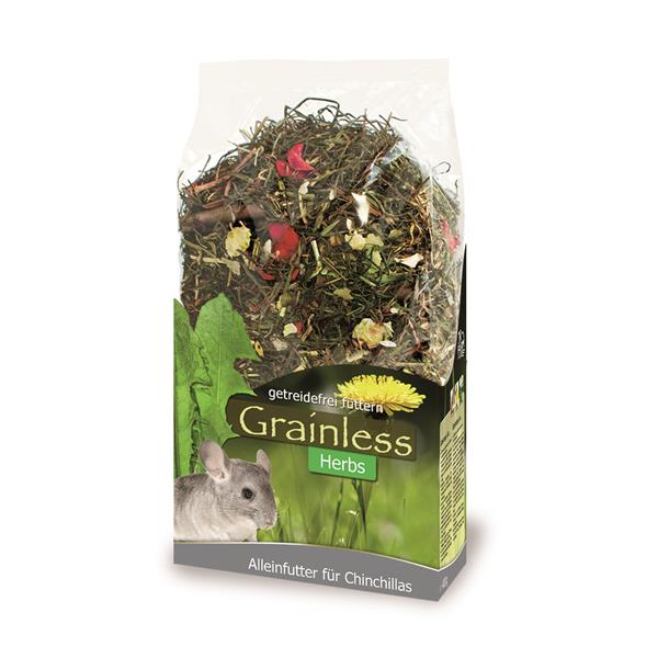 JR-Farm Grainless Herbs Chinchilla 400g