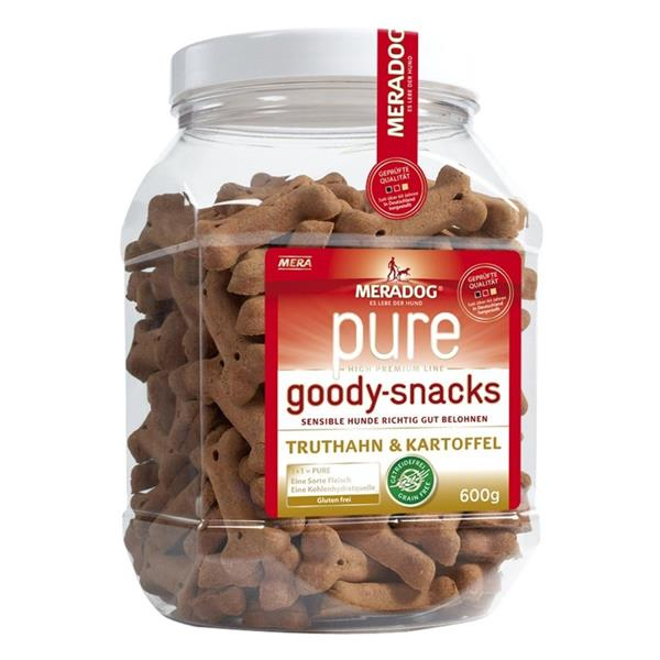 Mera Dog Goody-Snack Truthahn+Kartoffel 600g