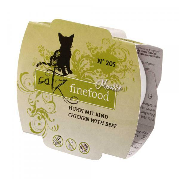 Catz Finefood Mousse No. 205 Huhn mit Rind
