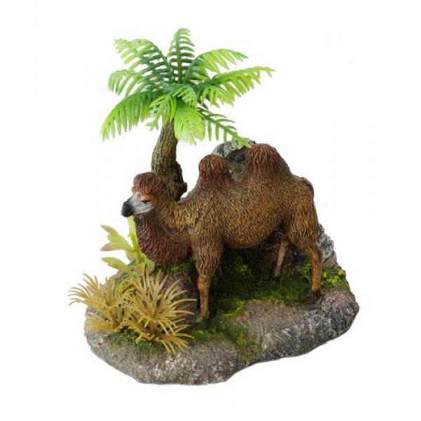 Dekor Camel with plants 11 x 8 x 11 cm