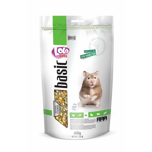 Lolo Pets Vollwertfutter Hamster 600g