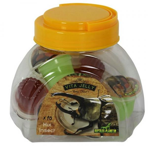 Reptiles Planet Vita Jelly Mix Insects - 10 Portionen, für Insekten