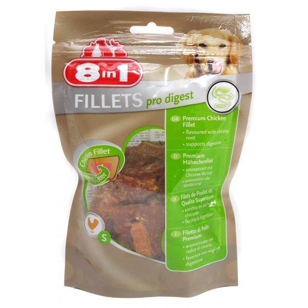 8in1 Fillets Pro Digest, Premium Hühnchensnack