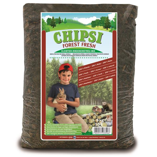 CHIPSI Forest Fresh Rindenstreu 30 l